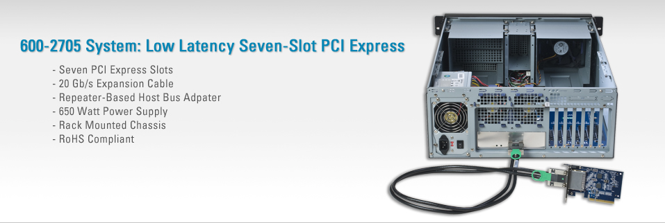 600-2705 System: Seven-Slot PCI Express Expansion System